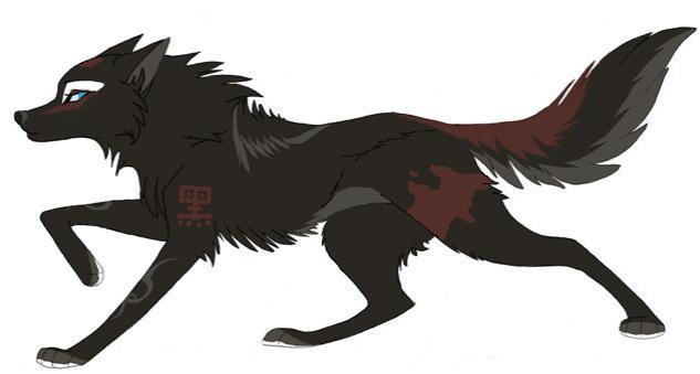 Картинки аниме волки с крыльями и без