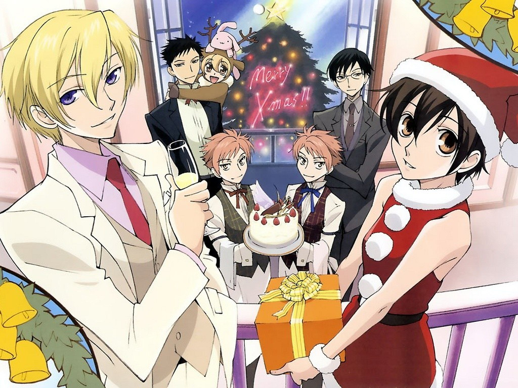 Ouran High School Host Club аниме